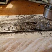Frézování hliníku nástrojem 1mm