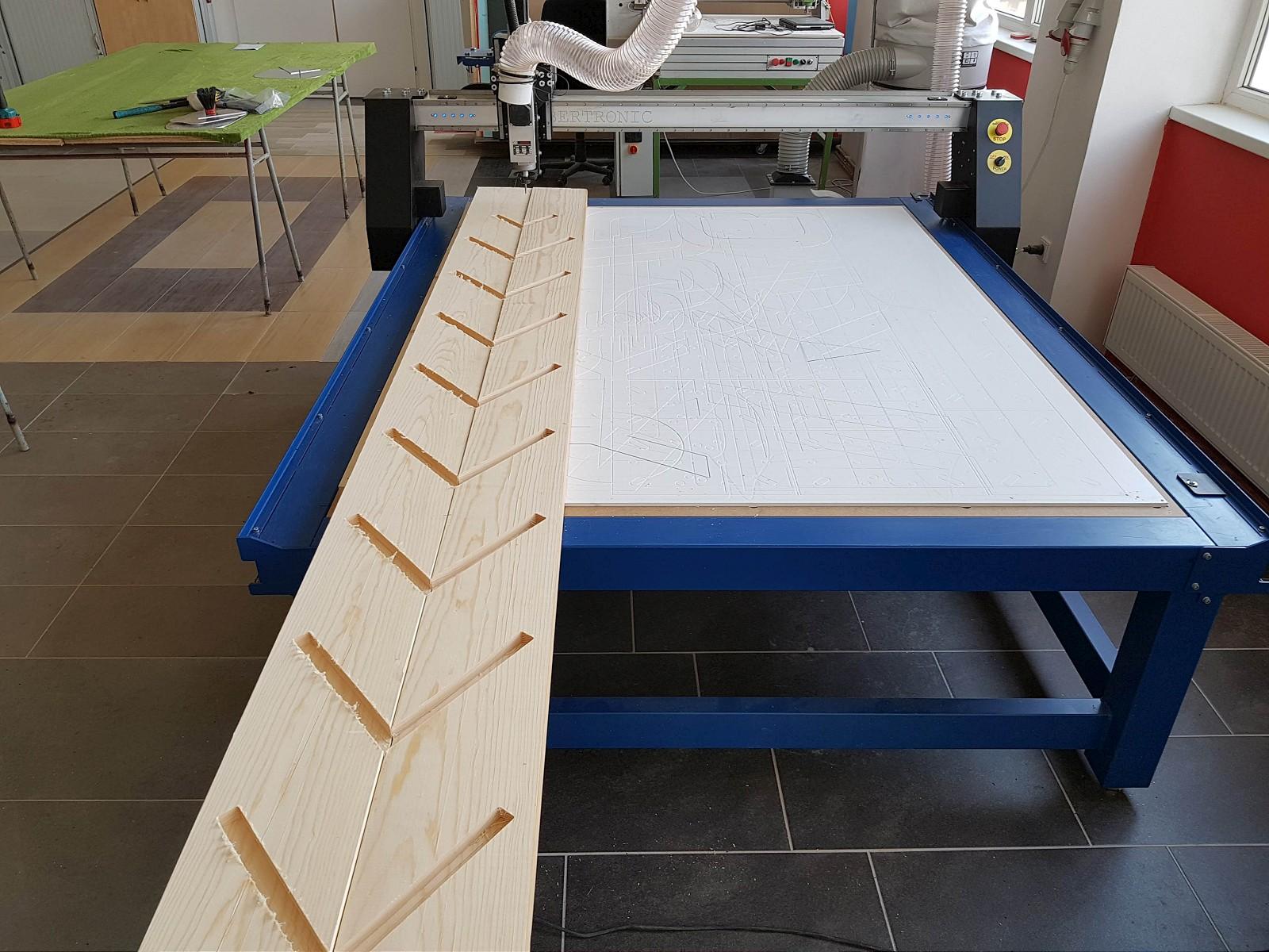 CNC frézování pro truhláře