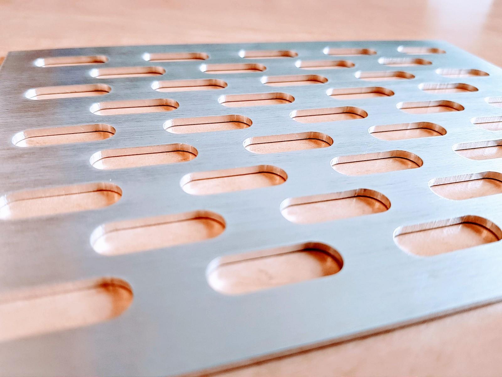 CNC frézování hliníku 2mm